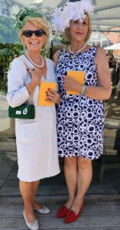 Hats - Grace & her MMiL looking very glam at Goodwood