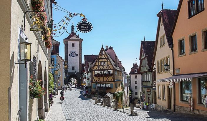 Bavaria Rothenburg ob der Tauber