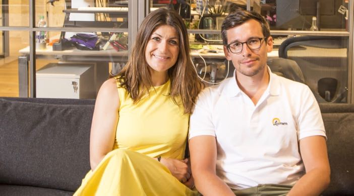Lumen App - Co-founders: Charly Lester & Antoine Argouges