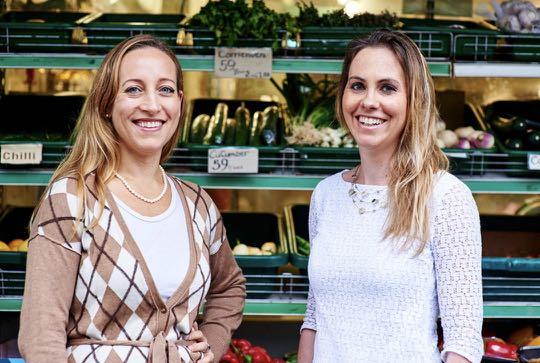 Sasha Celestial-One & Tessa Cook - founders of OLIO app
