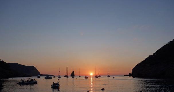 Sunset at Benirras, Ibiza - identity crisis