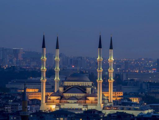 Identity crisis - Ankara, Turkey at night