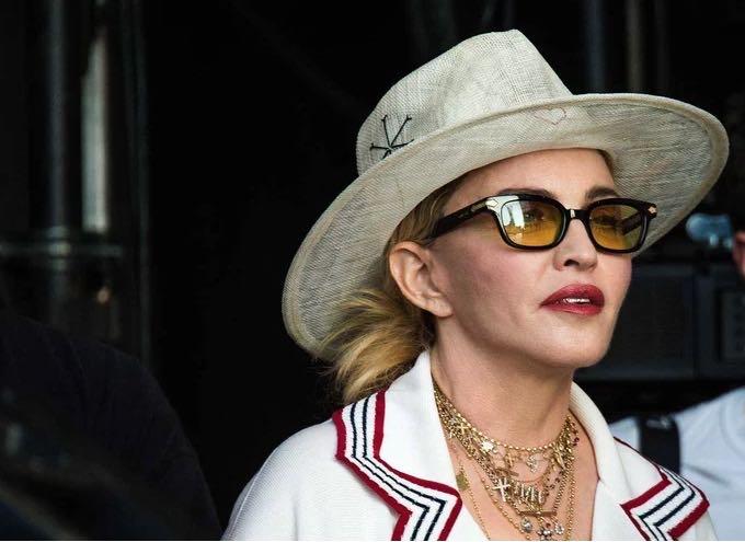 Madonna on her 60th birthday