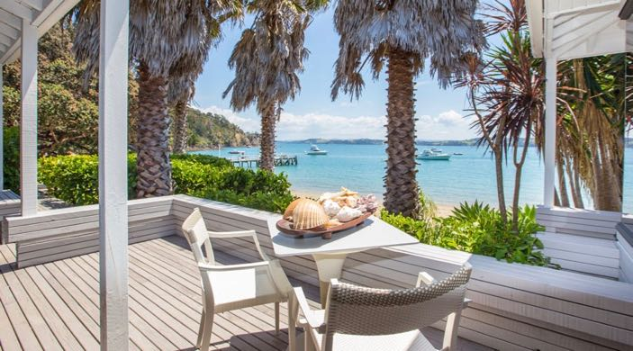 New Zealand the-beach-house-kawau-island