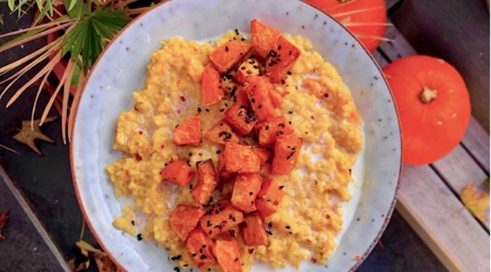 Creamy pumpkin risotto recipe