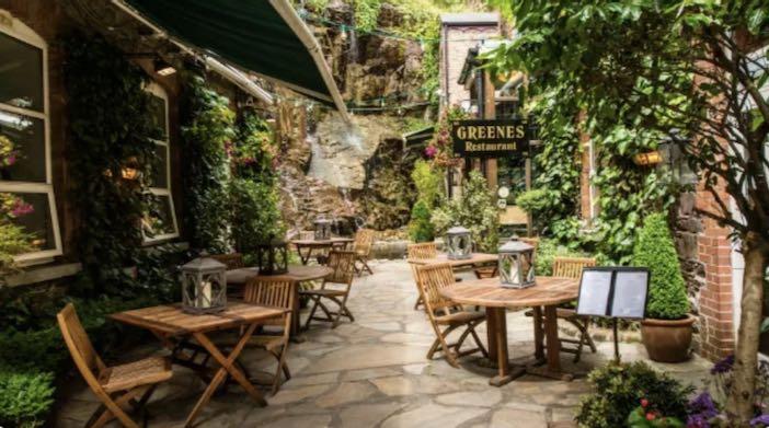 Irish passport blog: Greene's Restaurant Cork