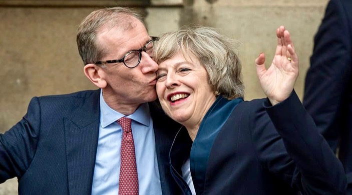 Do You Think Women Over 50 Are Too Old To Love? Theresa May and her husband
