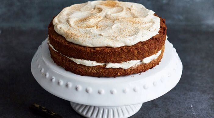 Baking without sugar: Carrot cake recipe by Sophie Michell