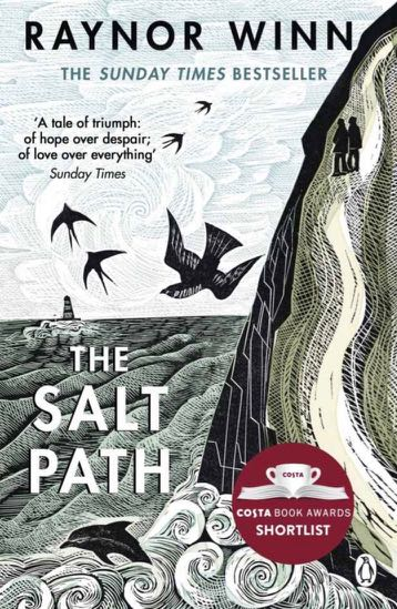 Front cover of The Salt Path by Raynor Winn - Read our review of this uplifting book