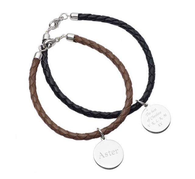 Hersey & Sons silver friendship bracelet from post ~ Silver no longer plays second fiddle to glamorous gold.