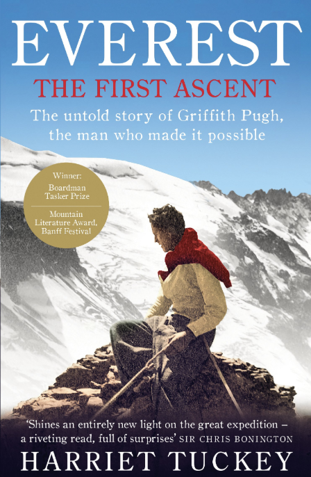 Book cover of Everest –The First Ascent by Harriet Tuckey