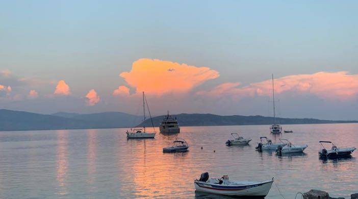 Agni bay in the evening from post: Carefree in Corfu: the north-east coast, heaven on earth!