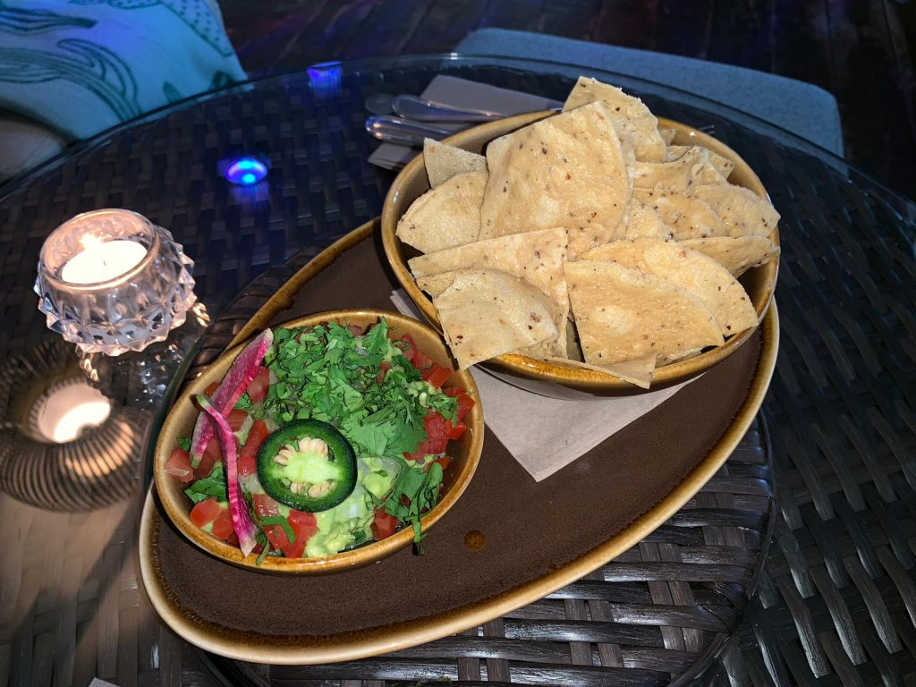 Guacamole at the new Mexican restaurant, Mezcalito, in Chelsea, London