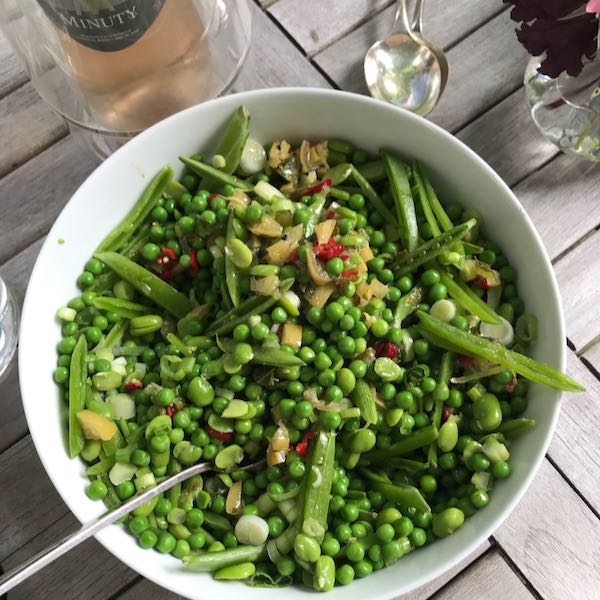 Petits Pois Salad: A Vibrant Green Side Dish With Preserved Lemon Salsa