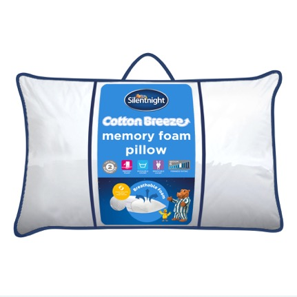 A Memory Foam Pillow from Silentnight. We have tried it!