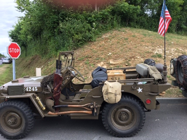 U.S. Jeep from WWII