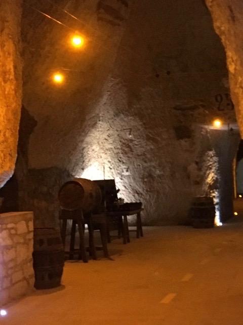 Cellars at Veuve-Cliquot