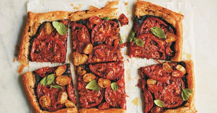 Tomato and Tapenade Tart – A Snack Made In Heaven