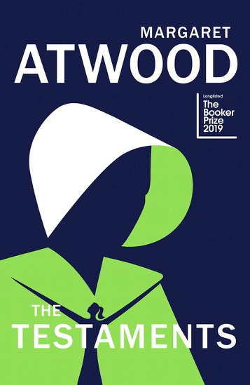 Book cover of The Testaments by Margaret Attwood from review post.