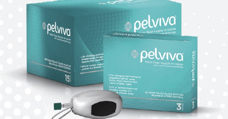 Pelviva - the pelvic floor muscle trainer tested by our friend, Jane Gordon