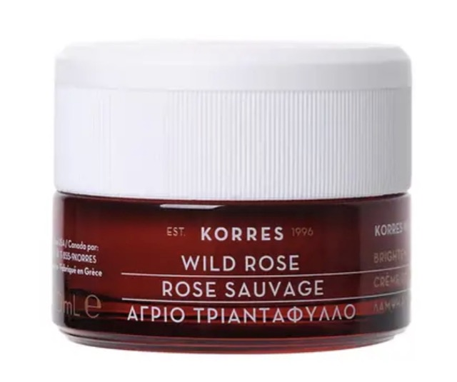 KORRES WILD ROSE 24-HOUR MOISTURISING & BRIGHTENING CREAM: from post ~ Dark Spots and Discolouration - 5 serums & creams that can help