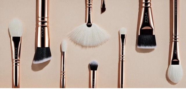 Set of Zoeva brushes from article: Ten valuable make up tips for older women that we have learned