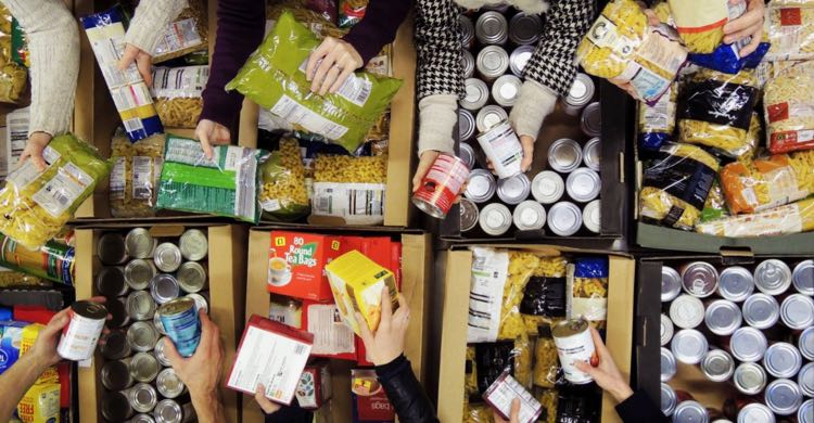 Food Banks & Volunteering - Not Just For Christmas