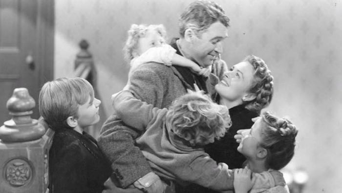 Northern Male on Festive Entertainment and Vampire Teeth  It's a Wonderful Life, a film by Frank Capra starring Jimmy Stewart
