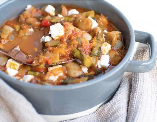 Mediterranean Feta Stew