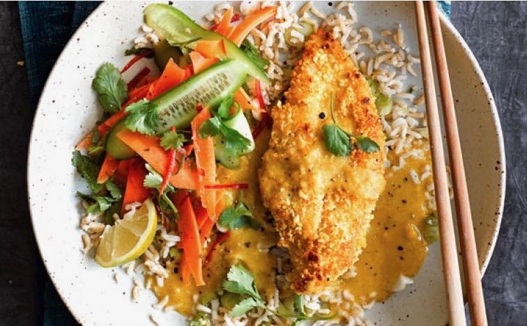 Chicken Katsu Curry – Sounds Naughtily Calorific but Isn't!
