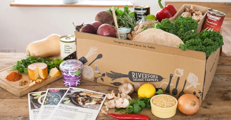 Recipe box from Riverford from post Living Life on the Veg: how I am coping with a family of vegetarians