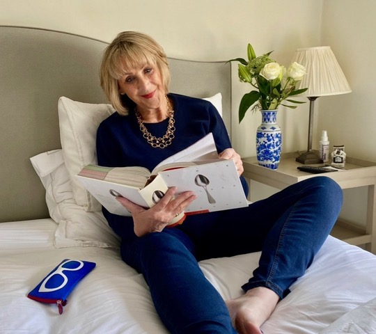 How one small boutique is surviving the retail challenges of lockdown GRACE RELAXING IN HER JEANS £69 worn with COTTON CREW NECK JUMPER from Artichoke Collection