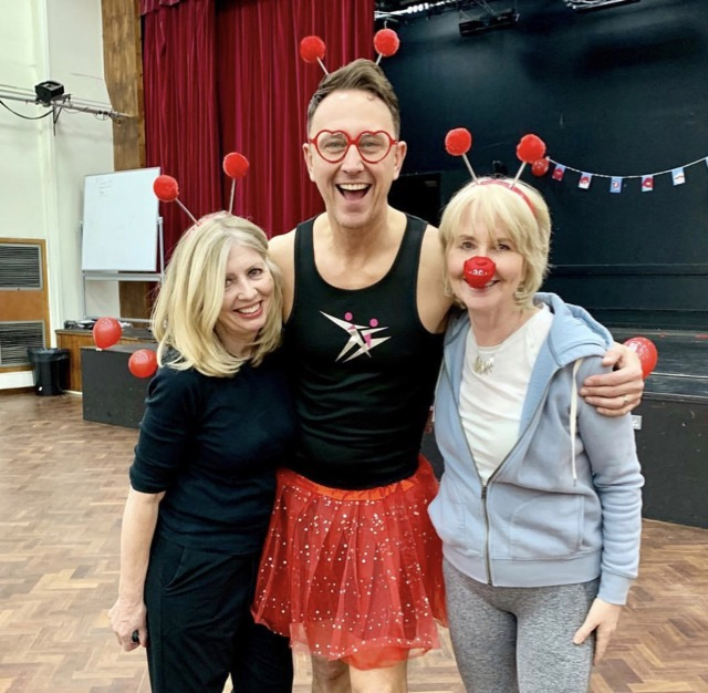 Jane Gordon, Ian Waite and Annabel dancing for Comic Relief from post How Not To Get Old