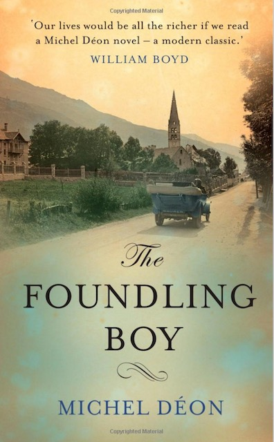 Book cover of The Foundling Boy by Michel Déon from book review post