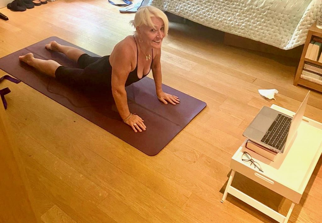 Yoga on Zoom from post: Lessons I have learned from living through Lockdown