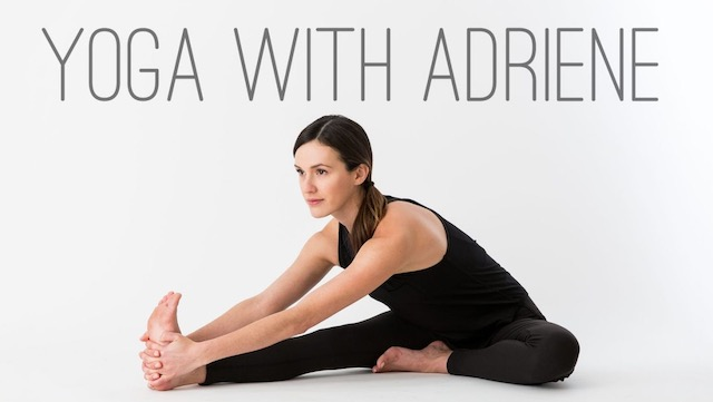 Finding fitness at home: Yoga with Adriene - online yoga instructor