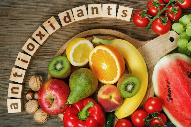 Foods enriched with antioxidants