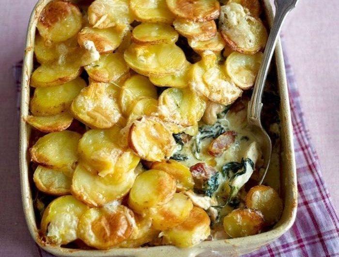 Chicken Tartiflette - an Indulgent French Winter Warmer