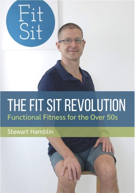 The Fit Sit Revolution front cover. Functional Fitness for the over 50s
