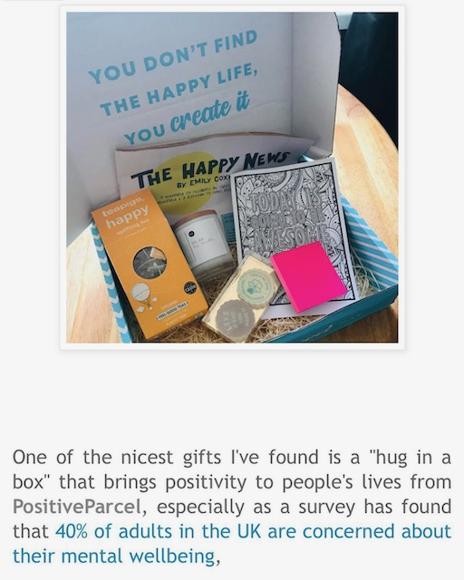 Send someone a hug in a box this Christmas and make them smile