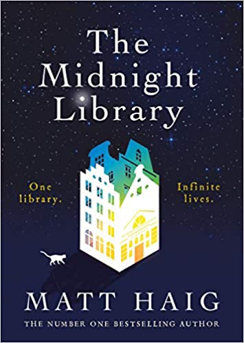 The Midnight Library book cover from post review: Books for Christmas