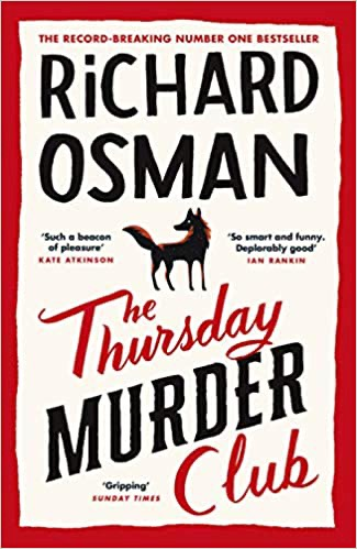 The Thursday Murder Club from post review: Books for Christmas: