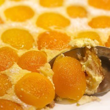 Apricot Brioche Tart recipe