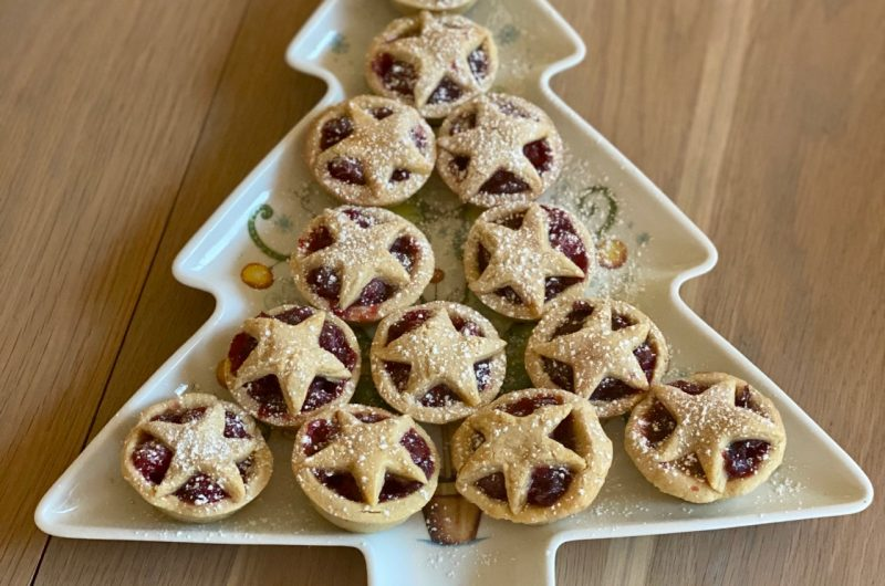 Mini Cranberry Pies - an alternative to Mince Pies