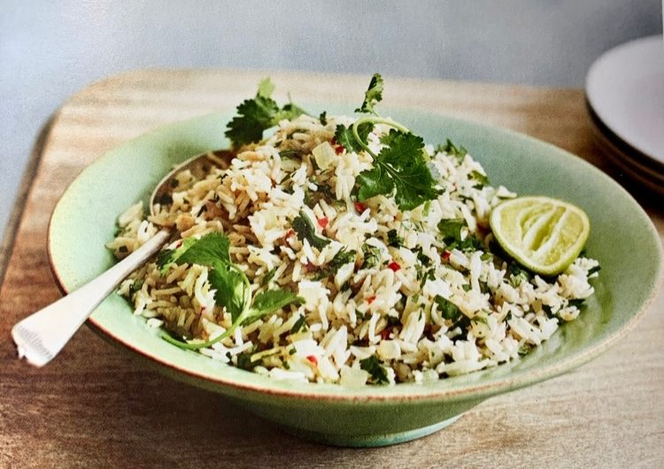 Fragrant Lemongrass and Coriander Rice by Mary Berry