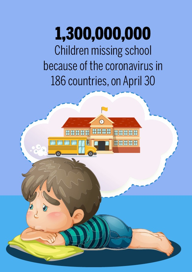 Poster for children missing school from post: Could it get any worse?