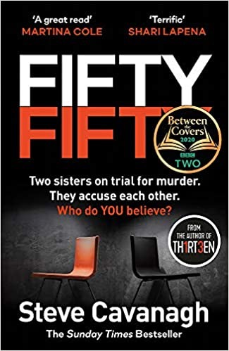 Book review: Fifty Fifty by Steve Cavanagh no. 1 best selling crime thriller