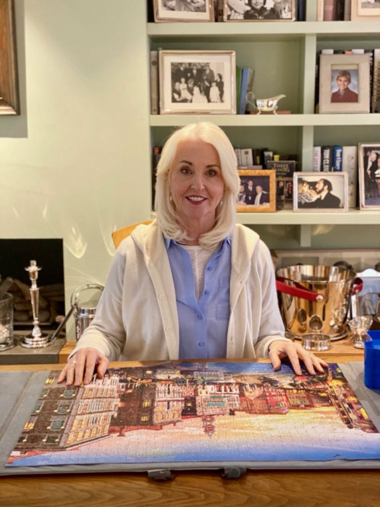 Life after 60, in lockdown doing jigsaw puzzles