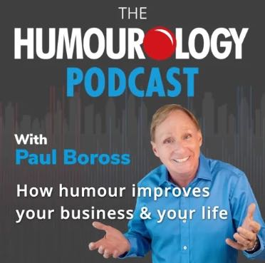 Northern Male talks Podcasting - including his top 10 picks for women over 50 Humourlogy with Paul Boross