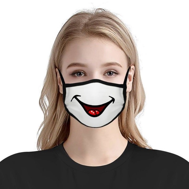 a smiling mask. Life after 60 post lockdown
